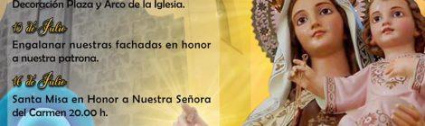 Participación de la AAM La Candelaria en las Fiestas del Carmen de Arafo 2020