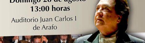 Presentación en rueda de prensa del Concierto del Día de San Juan Degollado con García Asensio