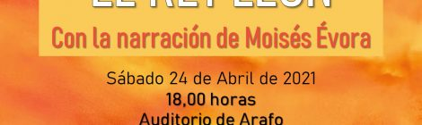 """Concierto del Día del Libro 2021: """"El Rey León"""""""