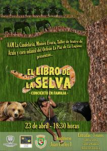 Cartel del concierto El libro de la Selva
