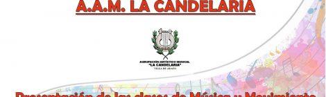 LOS PROFESORES DE LA ACADEMIA AAM LA CANDELARIA (VII): SOFÍA GONZÁLEZ BATISTA (ESPECIALIDAD: MÚSICA Y MOVIMIENTO)