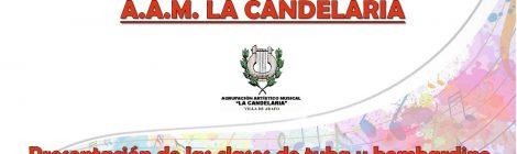 Los profesores de la Academia AAM La Candelaria (I): Antonio Fariña Díaz (Especialidades: tuba y bombardino)