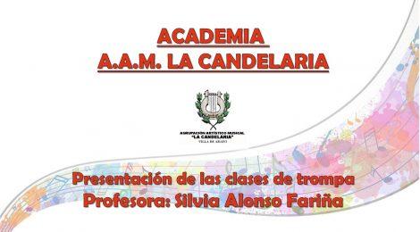 Los profesores de la Academia AAM La Candelaria (IV): Silvia Alonso Fariña (Especialidades: trompa y trombón)