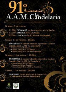 91 aniversario AAM La Candelaria
