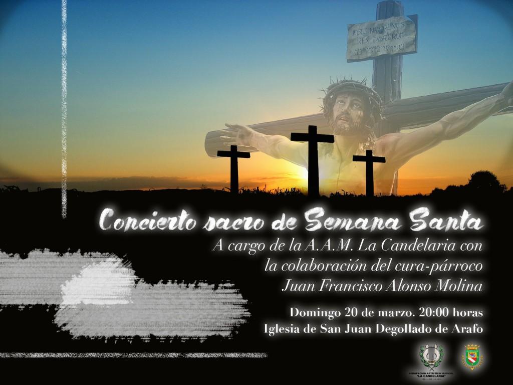 cartel concierto sacro